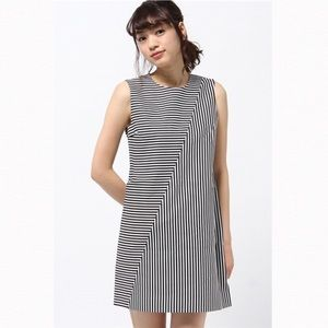 Kate Spade Saturday Mini Shift Dress Striped XS